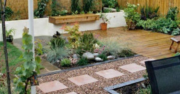 Jardin peque o minimalista zen jardines pinterest - Pequenos jardines zen ...