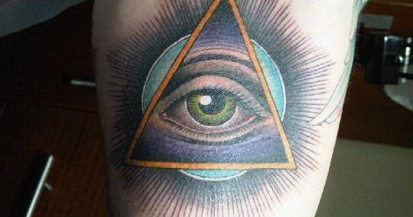 Third eye  Triangles a...