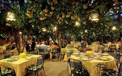 Restaurant da Paolino Lemon Trees, Capri Capri island