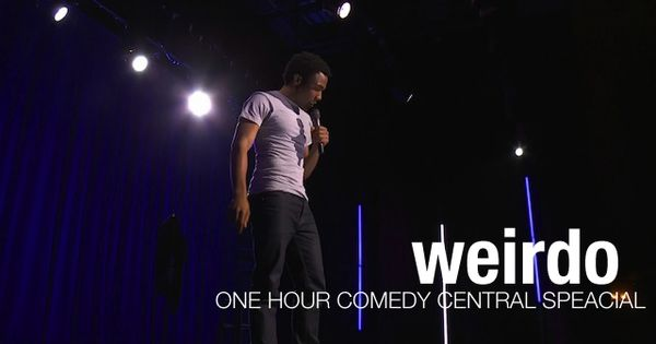 Childish Gambino Donald Glover Weirdo One Hour Comedy Central Special Donald Glover Comedy Central Childish Gambino