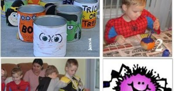 Halloween party game idea's for kids