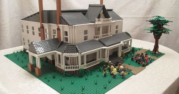 A LEGO MOC based on the main location for Season 2 of