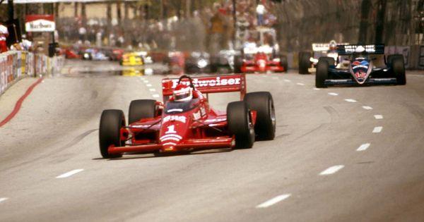 Bobby Rahal Toyota >> cart 1986 | Bobby Rahal, Long Beach, 1986, CART Indy Car | Ford Media | Indy Car /USAC Champ ...
