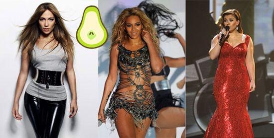 Spoon body shape celebrities