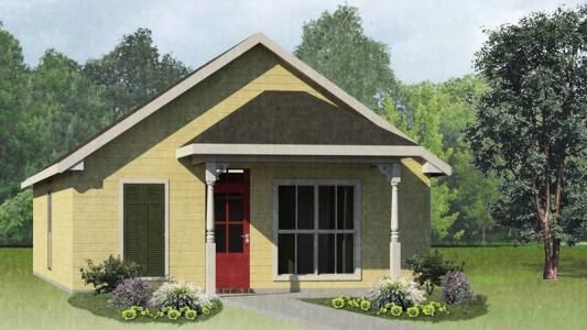 Zydeco Craftsman Collection Lafayette New Homes Carriage House