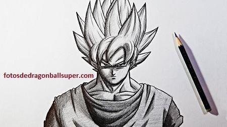4 Dibujos Faciles De Goku Para Dibujar Paso A Paso En Fase 3 Paperblog Dibujos Faciles De Goku Como Dibujar A Goku Dibujo Paso A Paso