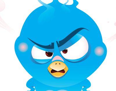 Irritable Bird Funny Emoticons Emoticon Smiley Emoji