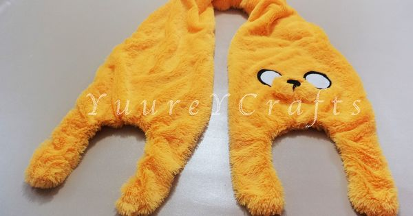 Adventure Time Jake the Dog Scarf