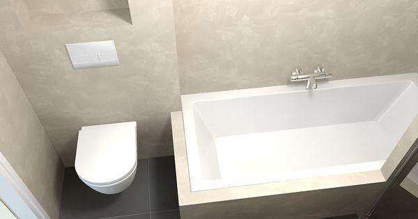 Beton cir de eerste kamer barneveld mooie lichte kleur beton cire badkamer pinterest house - Kleur modern toilet ...