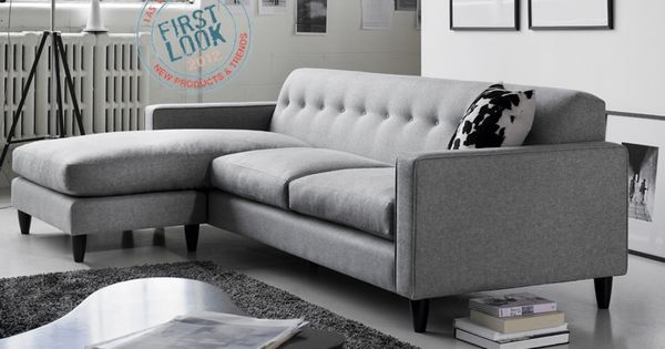 Porter sofa with chaise seat is new from g romano for Sofa sectionnel maison corbeil