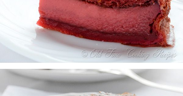 Magic Cake, Part II - Chocolate, Red Velvet, Fruit by kitchennostalgia: Three