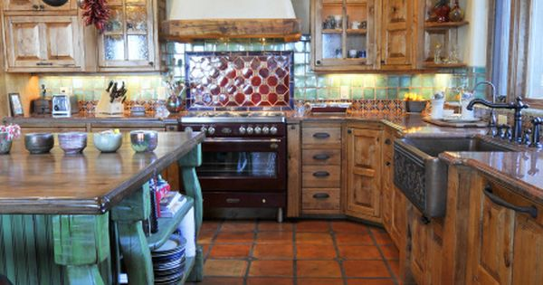 Texas Decor Rearranging The Tops Of My Kitchen Cabinets: Talamini Kitchen, Rustic Kitchen On A Home We Recently