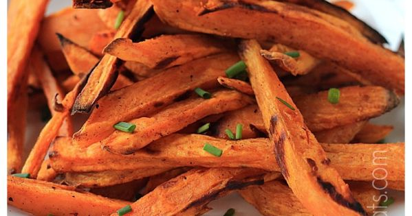 Crispy Baked Sweet Potato Fries with a Chipotle Lime Aioli | Recipe