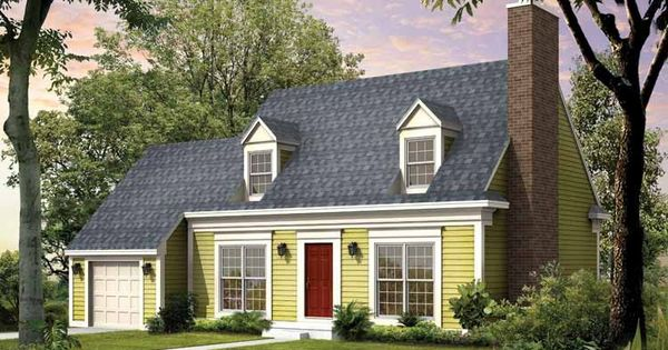 Eplans cape cod house plan cape cod update 1747 square for Colonial cape cod house plans
