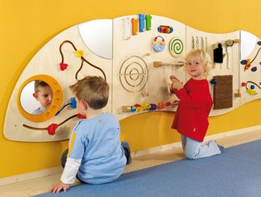 Wall Mountable Panel Toddler Play Area Interactive Walls Sensory Wall