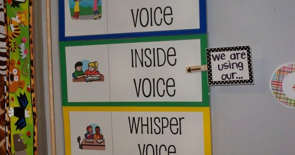 Classroom management- Noise meter
