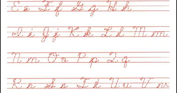 cursive handwriting worksheets for adults pdf