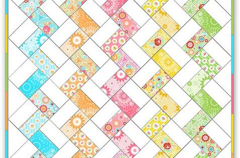Chevron Quilt Pattern Using Jelly Roll : simple jelly roll quilt. Very quick pattern. quilting Pinterest Chevron, iPod cases and ...