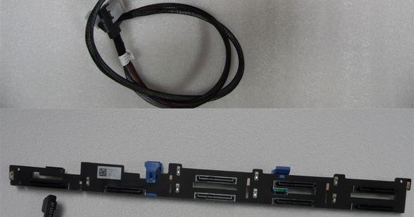 Details About Hdd 8 Bay Backplane Upgrade Kit Sas Sata Dell Poweredge R620 Server Kvgg1 Tk2vy Hdd Ebay Server