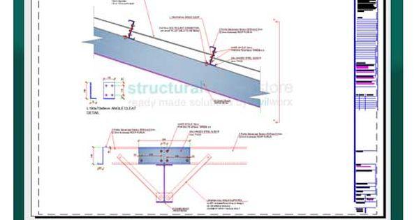 Steel Hangar Portal Frame Roof Eaves Beam Detail Roof Eaves Roof Apex Roof