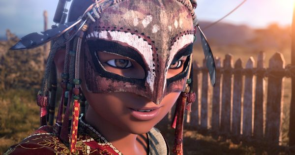 Bilal A New Animation Film About An African Boy Mask Africa