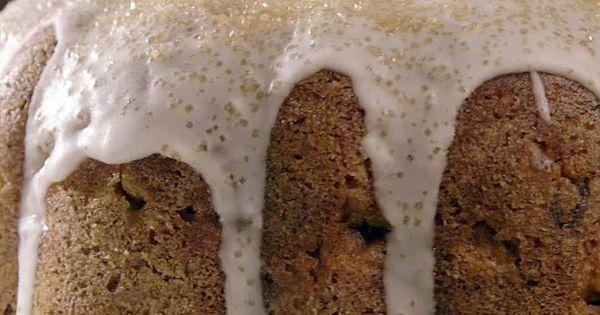 Spiced Bundt Cake With Whiskey-Coffee Glaze Recipe — Dishmaps