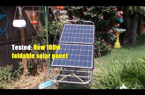 Suaoki 100w 18v 12v Solar Panel Charger Sunpower Cell Portable Foldable With Dual Output 5v 2a Usb 18v 5a Dc 10 Lap In 2020 Solar Panels Solar Panel Charger Solar