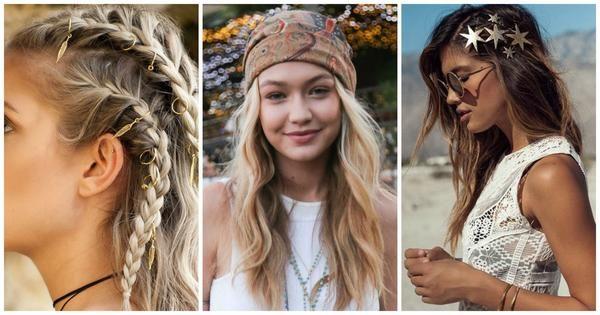 Festival Hair Coachella Hair Ideas Easy Hairstyles For Festivals Coachella Hair Festival Hair Hair Styles