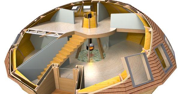 Casa domo prefabricada buscar con google geodesicos - Casas de madera y mas com ...
