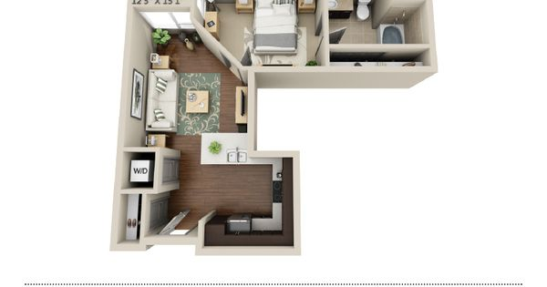 13th Market Is A Ground Breaking Apartment Building Located In The Heart Of Downtown San Diego Luxuriously Floor Plan Design Apartment Design House Design