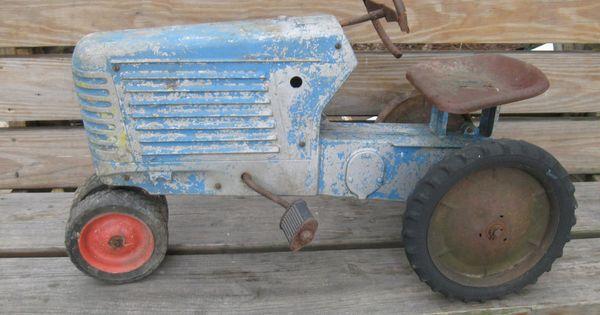 Pedal Tractor Replacement Parts : Eska oliver closed grill pedal tractor for parts or