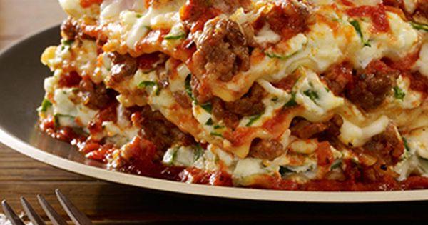 Italian Sausage Lasagna | Recipe | Happy, My heart and Sausage lasagna