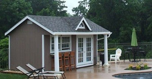 pool house sheds   Amish Storage Sheds  Wood Sheds  Vinyl Storage Shed Kit   Prefab Vinyl       Pool Houses   Pinterest   Vinyls  Sheds and Vinyl  storage. pool house sheds   Amish Storage Sheds  Wood Sheds  Vinyl Storage