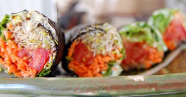 Non rice sushi