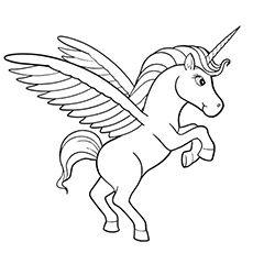 Flying Unicorn Coloring Sheet Unicorn Coloring Pages Mandala Coloring Pages Unicorn Pictures