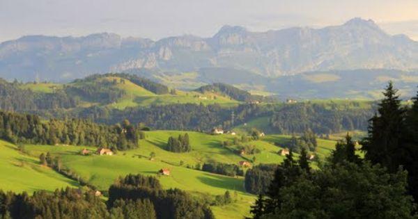 Photo Of Teufen Waldegg Aussicht Auf Den Santis Beauty Places English Countryside Landscape