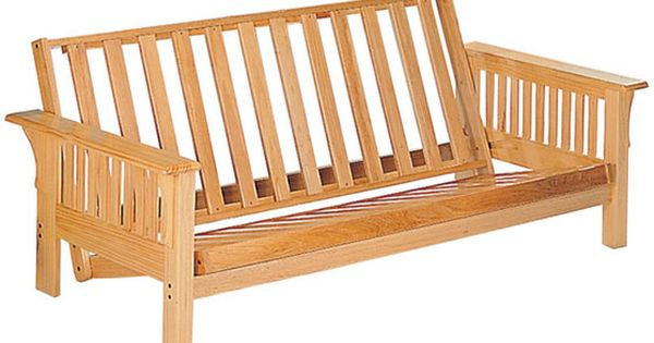 Couch Idea Futon Frame Wood