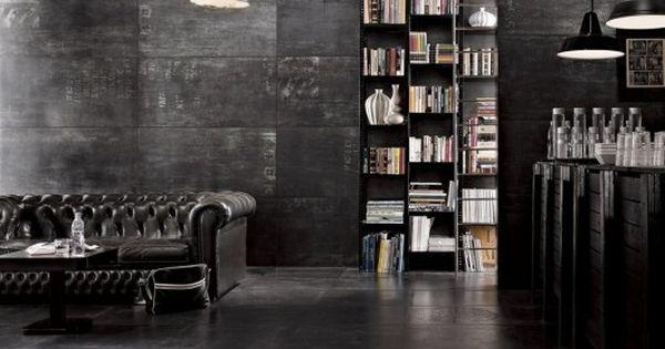 einrichtungstipps junggesellenwohnung dunkle farben granit   haus, Innenarchitektur ideen