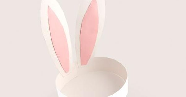 Easter Bunny ears kid's craft