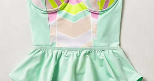 Anthropologie - Zinke Starboard Swimsuit... Julia Edwards with your hair and with