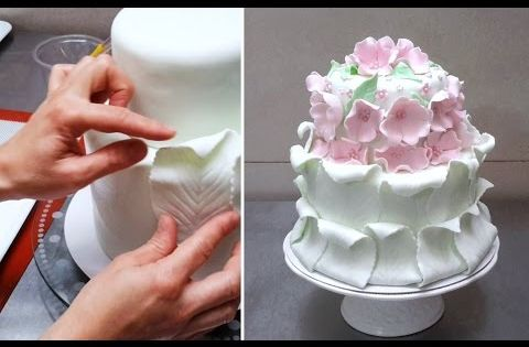 Simple Fondant Cake Decorating. Tutorial by ...