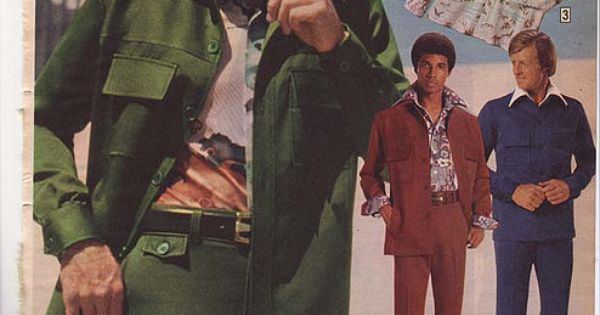 1975 montgomery ward christmas catalog   ah  the leisure suit  what a classic    not