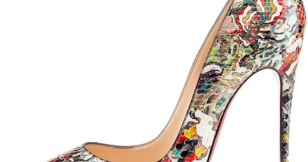 Christian Louboutin Painted 'So Kate' Pumps €1,010 Spring Summer 2014 CL Louboutins