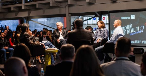 Watch richard branson talk innovation with some of tech 39 s for Innovation consulting san francisco