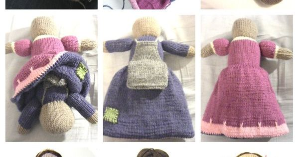 Knitting Pattern For Upside Down Doll : upside down doll handmade, by me Pinterest Dockor, Stickat och Monster