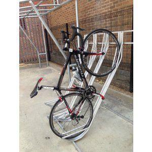 Semi Vertical Bike Rack Large Volume Discounts Apply Call For 1 2 Week Lead Time Vertical Bike Rack Vertical Bike Bike Rack