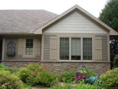 Design Ideas Craftsman S Choice Inc Hardie Siding House Paint Exterior Traditional Exterior