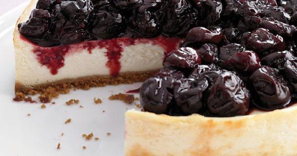 Light Cherry Cheesecake | Recipe | Original cheesecake recipe, Recipe ...
