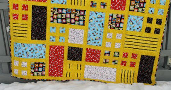 Sunshine Sews Peanuts Quilt Quilts Herringbone Quilt Crafts