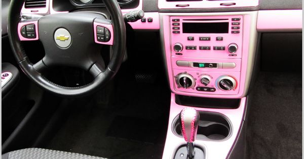 Diy Car Pink Interior Chevrolet Dash Kits Custom Dash Trim Lifted Trucks Cars Motorcycles